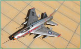 F-100D  20th TFW 1958 UK  Italeri